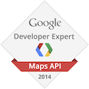 GDE Maps Badge 2014